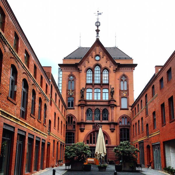 Berlin Inner Courtyards