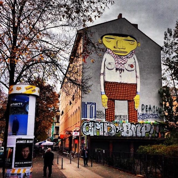 Street Art Guide Berlin Top 11 Os Gemeos