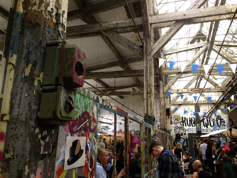 berlin street food neue heimat village market