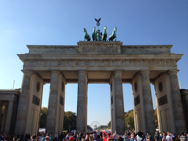 German Unity Day Street Party