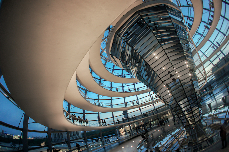 Visiting the German Parliament Dome