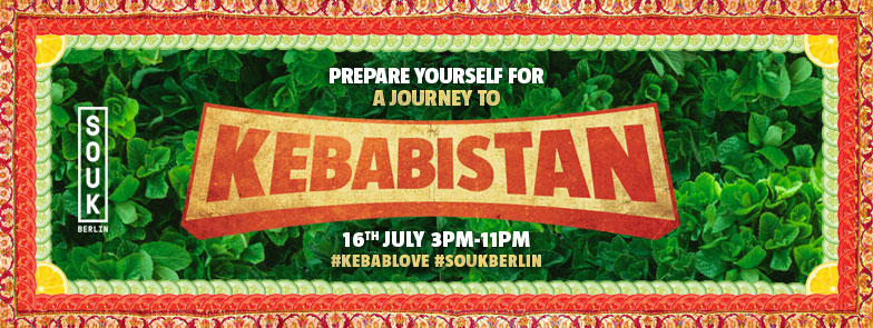 KEBABISTAN STREETFOOD PARTY CELEBRATES KEBAB CULTURE