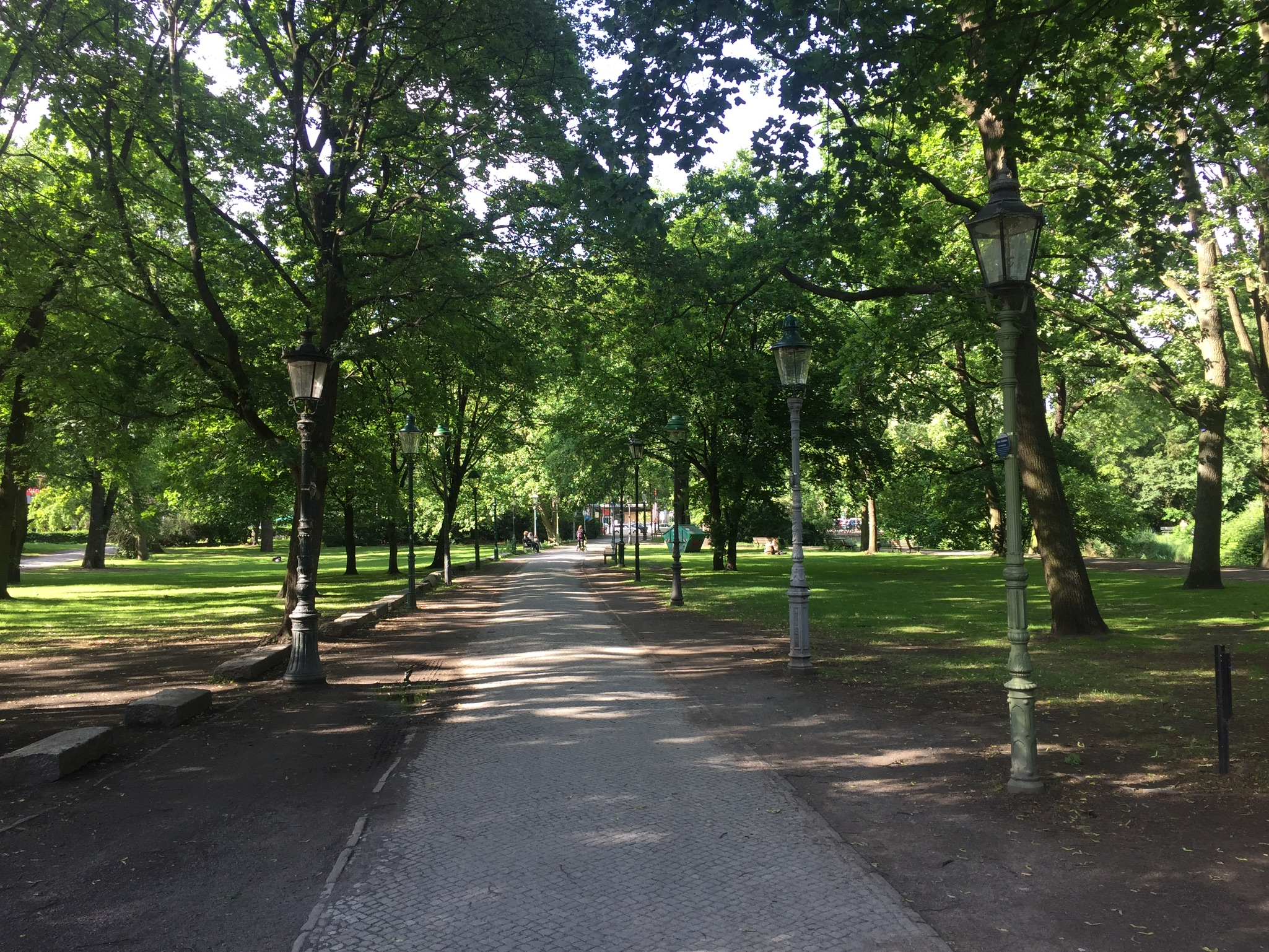 Berlin biking and walking route – Kreuzberg to Tiergarten
