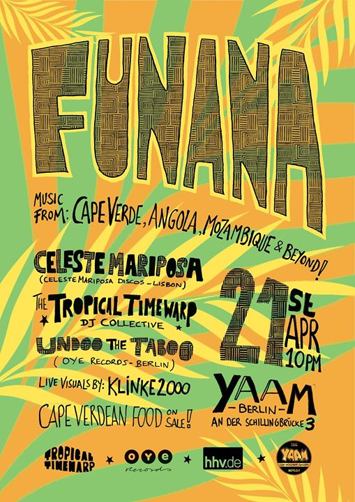 Funana! A night of dance music from Cape Verde, Angola