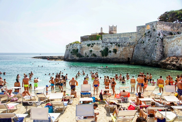 best beaches puglia