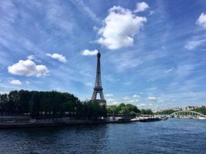 Weekend getaway to Paris