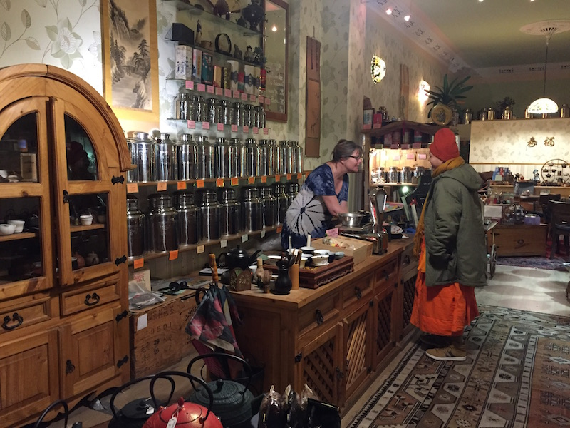 best tea shops berlin