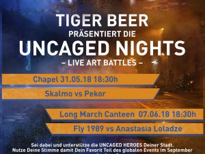 TIger Uncaged Heroes